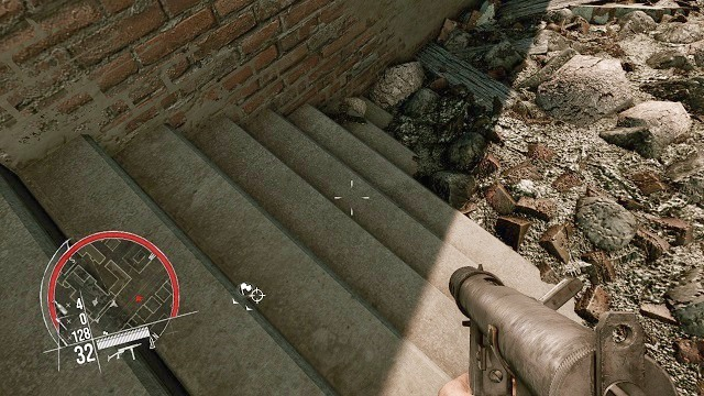 The location of the 3 collectible. - Mission 4 - Collectibles - Enemy Front - Game Guide and Walkthrough