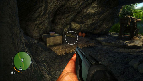 The corpse, and the letter, is at the other end of the cave - The Northern Island - Western part - Letters of the Lost - Far Cry 3 - Game Guide and Walkthrough