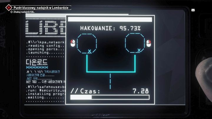 Kill him and go to the biggest room to hack the transceiver on the wall - Lombard - Red zone | Key Points - Key Points - Homefront: The Revolution Game Guide & Walkthrough