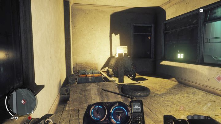 Place your motorbike on the presented device to charge the generator - Lombard - Red zone | Key Points - Key Points - Homefront: The Revolution Game Guide & Walkthrough