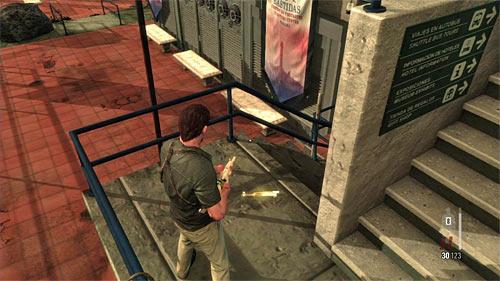 SECRET 13 [Golden Gun - AK-47 3/3]: On one of external buildings balconies - Clues and Golden Guns - Chapter XI - Collectibles - Max Payne 3 - Game Guide and Walkthrough