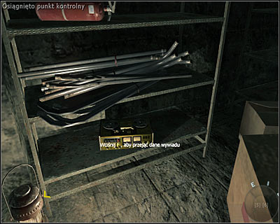 The secret is situated on the lowest shelf in one of the cabinets on the left - Vorkuta | Intel - Intel location - Call of Duty: Black Ops Game Guide & Walkthrough