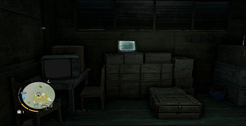 In every outpost, there is a secret depot with an automated shop in it, and sometimes also items to collect, like memory cards - Taking over the outposts - Outposts - Far Cry 3 - Game Guide and Walkthrough