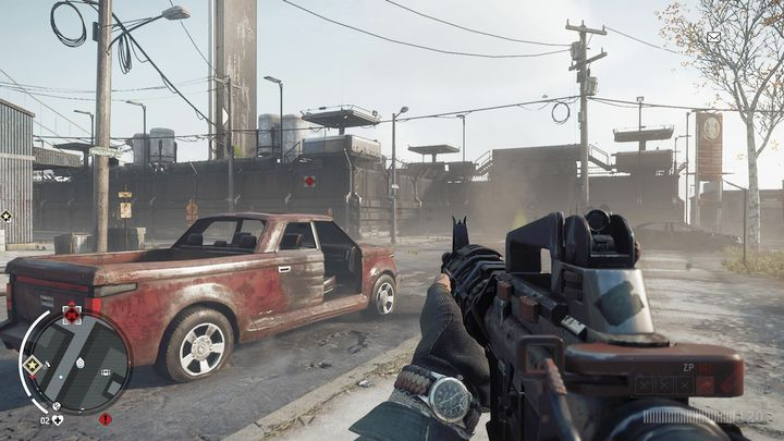 Once you reach the place seen on the map, you will see a well-fortified KPA base - Elmtree - Red zone | Key Points - Key Points - Homefront: The Revolution Game Guide & Walkthrough
