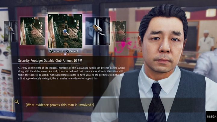 There, you will meet Tsukumo, one of Yagamis friends - Chapter 1 Three Blind Mice | Judgment Walkthrough - The main storyline - Judgment Guide