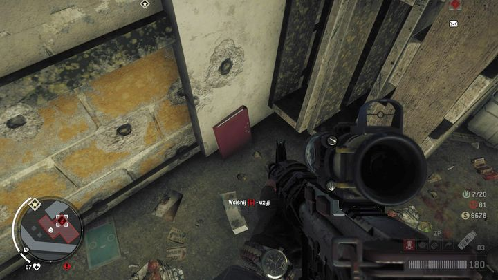 The next one is on the second floor, by the pallets - Lombard - Red zone | Key Points - Key Points - Homefront: The Revolution Game Guide & Walkthrough