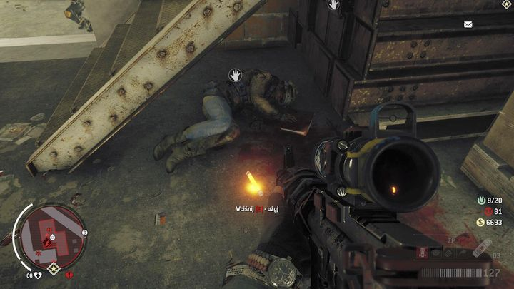 The third paper is under the stairs, by the fallen soldier - Lombard - Red zone | Key Points - Key Points - Homefront: The Revolution Game Guide & Walkthrough
