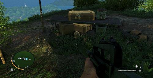 В отмеченной области под столом находится еще одна статуэтка - Северный остров - Южная часть - Объекты культа - Far Cry 3 - Руководство по игре и прохождение игры