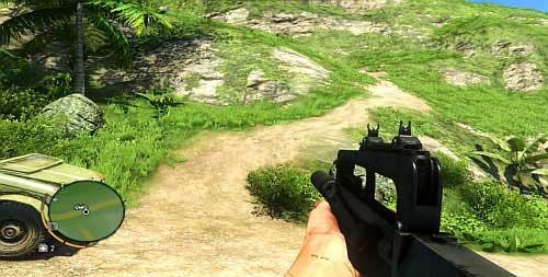 Перейдите в область, отмеченную красным кружком на снимке экрана выше, и найдите путь, ведущий к возвышению - Северный остров - Юго-восточная часть - Объекты культа - Far Cry 3 - Руководство по игре и прохождение игры