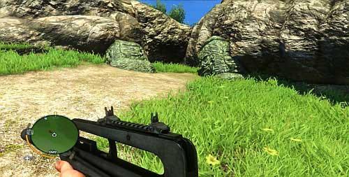 В конце пути есть скриншот, показанный на скриншоте, через который вам нужно пройти - Северный остров - Юго-восточная часть - Культовые объекты - Far Cry 3 - Руководство по игре и прохождение игры