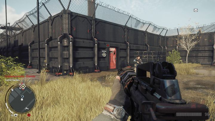 At the beginning, find a suitable spot (behind the wall) and eliminate attacking storm troopers - Elmtree - Red zone | Key Points - Key Points - Homefront: The Revolution Game Guide & Walkthrough