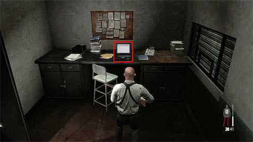 SECRET 4 [Clue 2/7 - Prison Log]: In small room next to the jail - Clues and Golden Guns - Chapter XIII - Collectibles - Max Payne 3 - Game Guide and Walkthrough