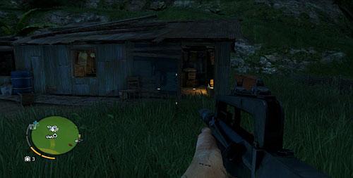 В области, обозначенной как номер три, на снимке экрана показан дом - Северный остров - Юго-восточная часть - Объекты культа - Far Cry 3 - Руководство по игре и прохождение игры