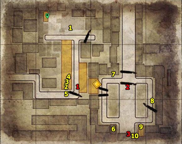 1 - Mission 10   Wine Bottles and Gold Bars - Wine Bottles and Gold Bars - Sniper Elite V2 Game Guide & Walkthrough