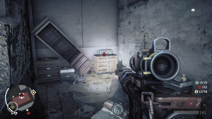 Kill all the soldiers and activate the radio, located in the second room - Old Town - Red zone | Key Points - Key Points - Homefront: The Revolution Game Guide & Walkthrough