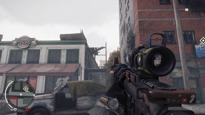 Once you receive further information, head to the location presented in the picture - Old Town - Red zone | Key Points - Key Points - Homefront: The Revolution Game Guide & Walkthrough