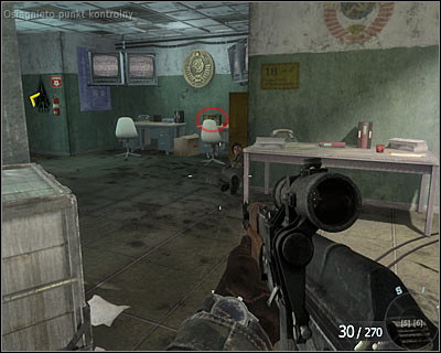 The secret is on one of the desks on the right - Executive Order | Intel - Intel location - Call of Duty: Black Ops Game Guide & Walkthrough