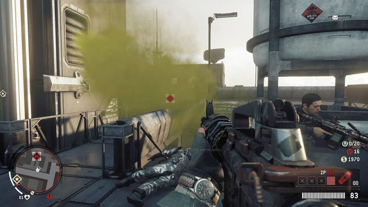After the fight, go to the stairs - Elmtree - Red zone | Key Points - Key Points - Homefront: The Revolution Game Guide & Walkthrough