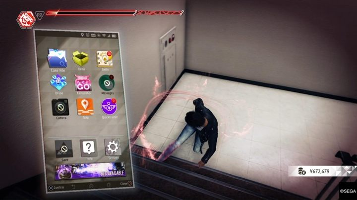 1 - Apps on your phone in Judgment - Basics - Judgment Guide
