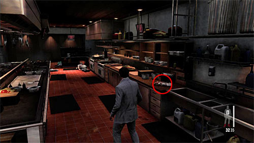 SECRET 8 [Clue 5/6 - Portuguese Newspaper]: In the kitchen - Clues and Golden Guns - Chapter II - Collectibles - Max Payne 3 - Game Guide and Walkthrough