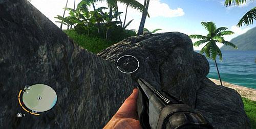 Прыжок налево на вершину холма - Северный остров - Юго-восточная часть - Объекты культа - Far Cry 3 - Руководство по игре и прохождение игры