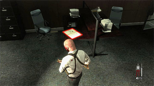 SECRET 13 [Clue 5/7 - Political Folder]: In one of the right rooms in big office area, where you have a long fight with policemen - Clues and Golden Guns - Chapter XIII - Collectibles - Max Payne 3 - Game Guide and Walkthrough
