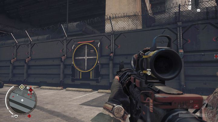 Move to the south part of the facility where the ventilation grate is located - Old Town - Red zone | Key Points - Key Points - Homefront: The Revolution Game Guide & Walkthrough