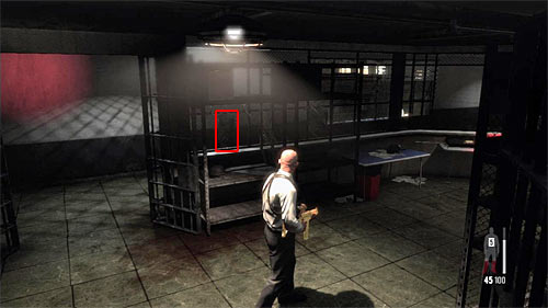 SECRET 15 [Clue 7/7 - Flak Vest]: In the second part of big armory, by the switch - Clues and Golden Guns - Chapter XIII - Collectibles - Max Payne 3 - Game Guide and Walkthrough