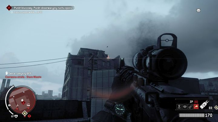 Your task will be to eliminate all the sharpshooters in the area - Old Town - Red zone | Key Points - Key Points - Homefront: The Revolution Game Guide & Walkthrough