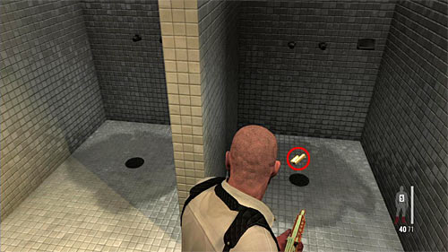 SECRET 4 [Golden Gun - Rotary Grenade Launcher 3/3]: Under shower in the bathroom - Clues and Golden Guns - Chapter XIV - Collectibles - Max Payne 3 - Game Guide and Walkthrough