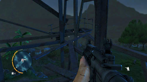 Every radio tower is a challenge and there are different obstacles on your path towards the tower - Radio towers - Far Cry 3 - Game Guide and Walkthrough