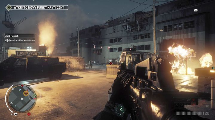 Once you arrive to the place, you will have to deal with KPA soldiers - Elmtree - Red zone | Key Points - Key Points - Homefront: The Revolution Game Guide & Walkthrough