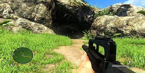 Пройдите по дороге, чтобы добраться до места, отмеченного красным кружком, и войдите в пещеру - Северный остров - Северный полуостров - Объекты культа - Far Cry 3 - Руководство по игре и прохождение игры