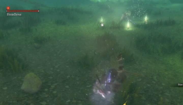 The underwater Headless. - Headless (underwater) #1   Sekiro Shadows Die Twice Boss Fight - Bosses - Sekiro Guide and Walkthrough