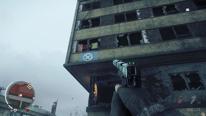 The last package is on the second floor of the east part of the hospital - Old Town - Red zone | Key Points - Key Points - Homefront: The Revolution Game Guide & Walkthrough