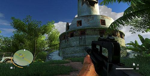 Подойдите к разрушенному маяку и войдите - Северный остров - Северный полуостров - Объекты культа - Far Cry 3 - Руководство по игре и прохождение игры