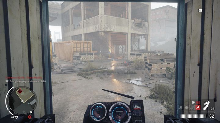 You will fail to do that, so you will have to charge the generator in the nearby building - Old Town - Red zone | Key Points - Key Points - Homefront: The Revolution Game Guide & Walkthrough