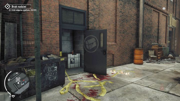 An entrance to the warehouse can be seen in the picture - Earlstone - Yellow zone | Journals and jobs - Journals and jobs - Homefront: The Revolution Game Guide & Walkthrough