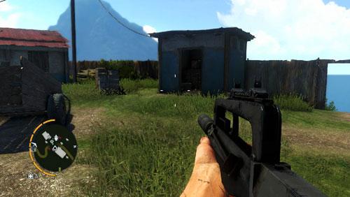 В области, обозначенной как номер три, вы окажетесь перед зданием, показанным на скриншоте - Южный остров - Северо-западная часть - Объекты культа - Far Cry 3 - Руководство по игре и прохождение игры
