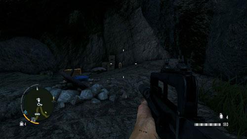 Следуйте по дороге, обозначенной цифрой, чтобы найти пещеру, внутри которой находится статуэтка - Южный остров - Северо-западная часть - Объекты культа - Far Cry 3 - Руководство по игре и прохождение игры