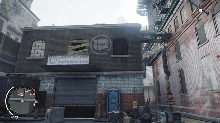 You can enter the flat from the place shown above - Forbidden Zone | Key Points - Key Points - Homefront: The Revolution Game Guide & Walkthrough