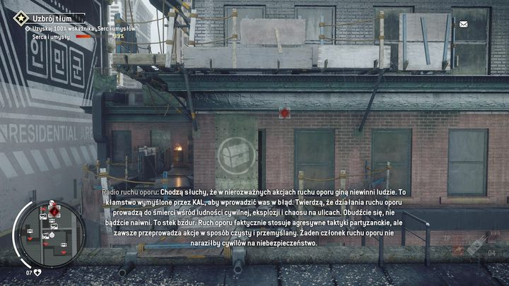 Turn right after passing the bridge and climb the ladder to get to the roof - Forbidden Zone | Key Points - Key Points - Homefront: The Revolution Game Guide & Walkthrough