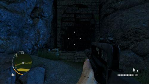 Доберитесь до области, отмеченной красным кружком, лицом к входу в пещеру - Южный остров - Северо-западная часть - Объекты культа - Far Cry 3 - Руководство по игре и прохождение игры