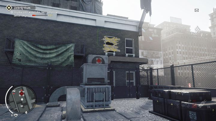 This way will enable you getting on the roof and a place depicted above - Forbidden Zone | Key Points - Key Points - Homefront: The Revolution Game Guide & Walkthrough