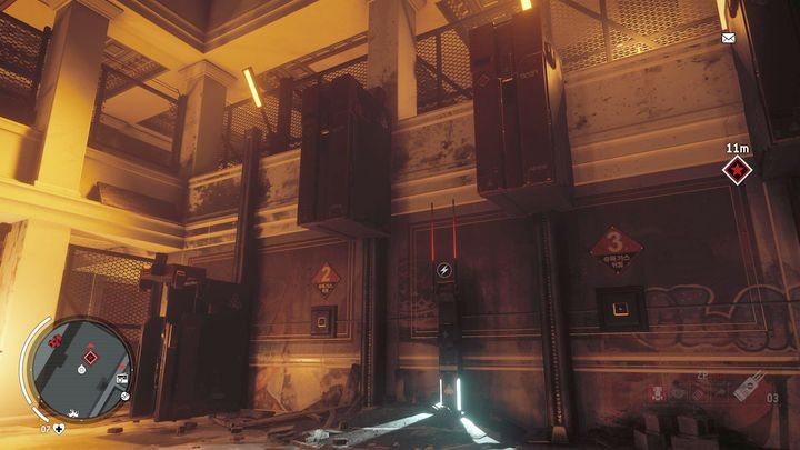 In the main room you will find a group of solitaries and a control panel which has to be hacked - Forbidden Zone | Key Points - Key Points - Homefront: The Revolution Game Guide & Walkthrough