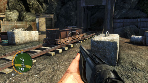 В отмеченной области вы столкнетесь с двумя вагонами - Южный остров - Северо-западная часть - Объекты культа - Far Cry 3 - Руководство по игре и прохождение игры