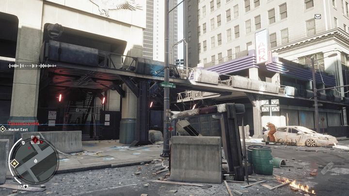 When you get to your destination, go upstairs with the stairs to your left - Forbidden Zone | Key Points - Key Points - Homefront: The Revolution Game Guide & Walkthrough