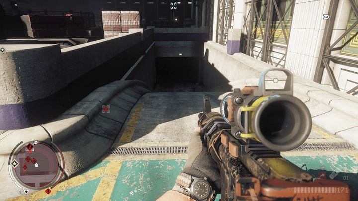On the other side you will find an entrance to an underground parking lot - Forbidden Zone | Key Points - Key Points - Homefront: The Revolution Game Guide & Walkthrough