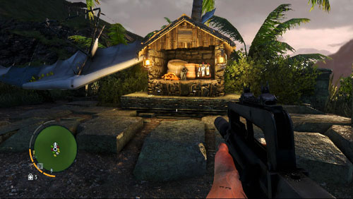 The statuette can be found on the peak of the elevation that you will reach through the path - The Southern Island - North-eastern part - Cult Objects - Far Cry 3 - Game Guide and Walkthrough
