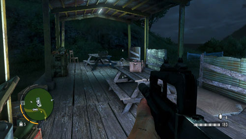 In the area marked as number four, the statuette is in one of the tables - The Southern Island - North-eastern part - Cult Objects - Far Cry 3 - Game Guide and Walkthrough